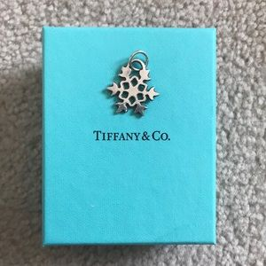 Authentic Tiffany & Co. Snowflake Pendant